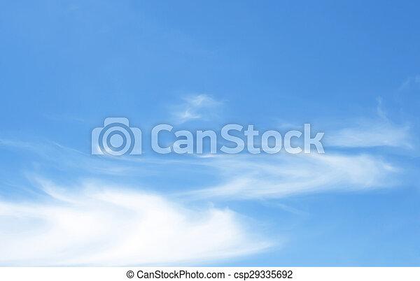 Blauer Himmel - csp29335692