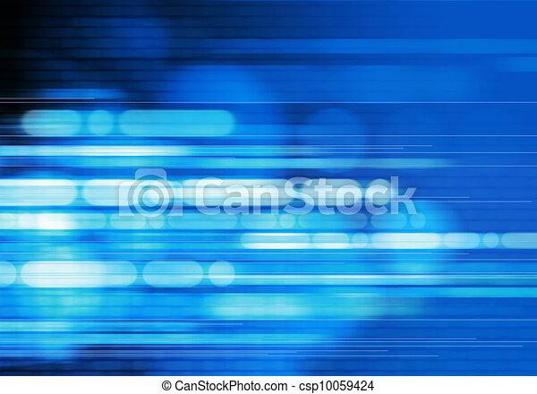 blauer hintergrund, abstrakt - csp10059424