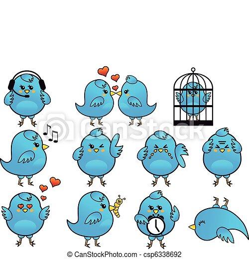 Tolle Blaue Böse Vogel Färbung Seite Bilder - Dokumentationsvorlage ...