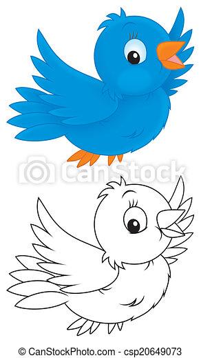 Schön Blaue Vogel Färbung Seite Bilder - Beispielzusammenfassung ...
