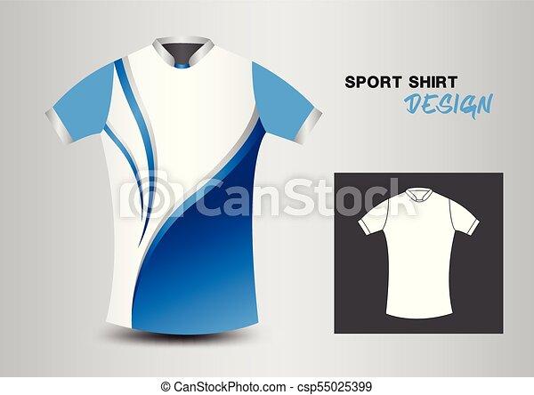 pretty nice fa5fe 02253 blaues, abbildung, gestalten entwurf, mã¤nnerhemd, t-shirt, vektor, design,  weißes, sport, design