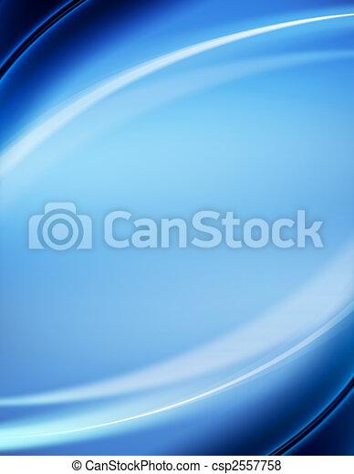 blaues, abstrakt, hintergrund - csp2557758