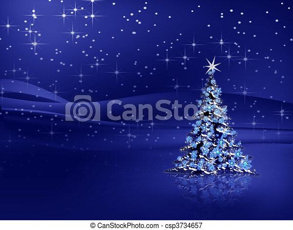 blaues baum schneeflocken hintergrund weihnachten. Black Bedroom Furniture Sets. Home Design Ideas