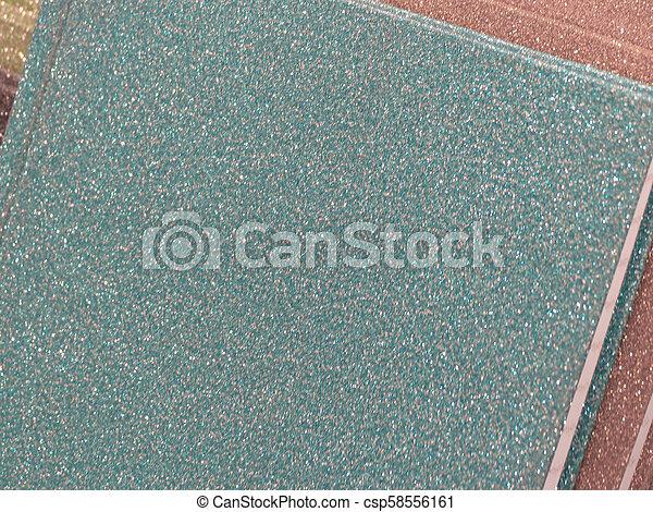 blaues grün, beschaffenheit, hintergrund, plastik - csp58556161