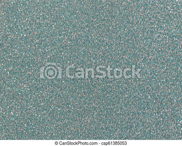 blaues grün, beschaffenheit, hintergrund, plastik - csp61385053