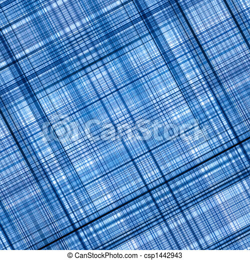 blaues, hintergrund., abstrakt - csp1442943