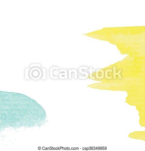 clipart vektor von blaues, illustration., papier, einladungen, Einladung