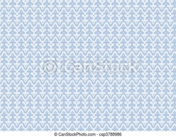 blaues licht, seamles, hintergrund - csp3788986