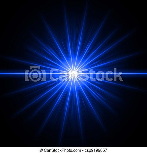 Blaues Licht - csp9199657