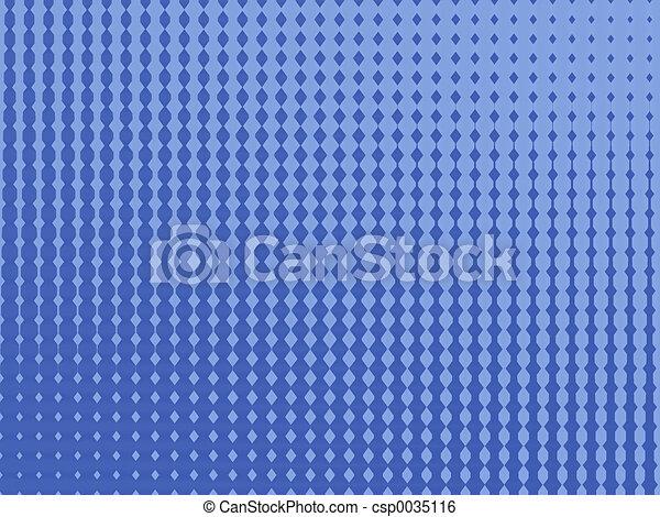 blaues, muster - csp0035116