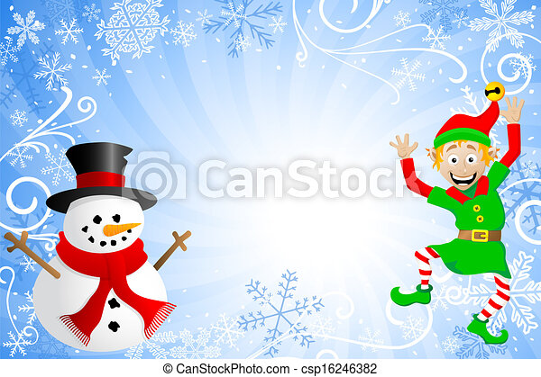 Blaues schneemann weihnachtshelfer weihnachten - Christmas elf on the shelf wallpaper ...