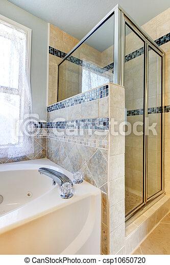 Fliesenmuster Dusche blaues tub fliesenmuster dusche beige weißes blaues