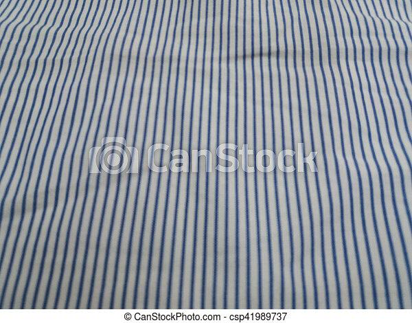 blaues, weißer hintergrund, stoffstruktur - csp41989737
