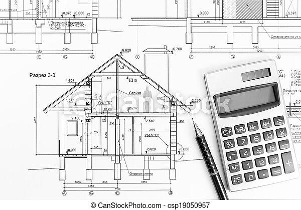 Exceptional Blaupause, Haus, Plan   Csp19050957