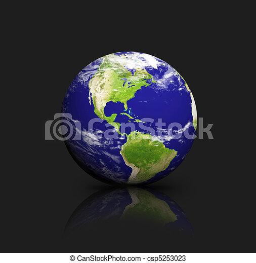 blauwe , aarde - csp5253023