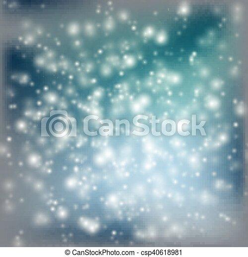 blauwe , abstract, achtergrond - csp40618981