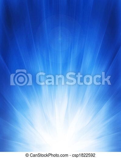 blauwe achtergrond - csp1822592
