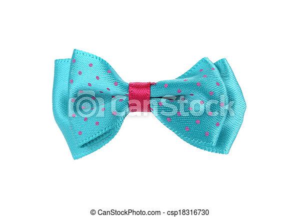 blauwe band, boog - csp18316730