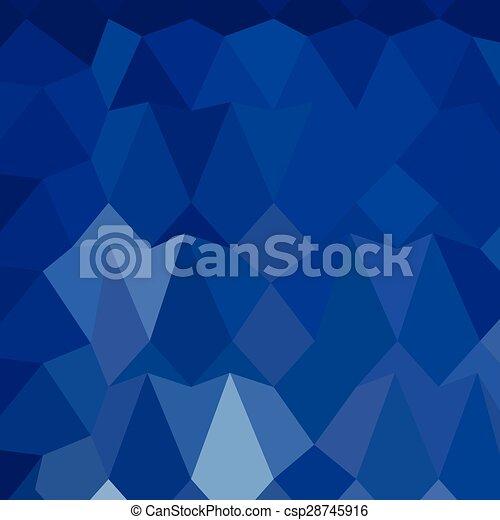 blauwe , catalina, veelhoek, abstract, laag, achtergrond - csp28745916