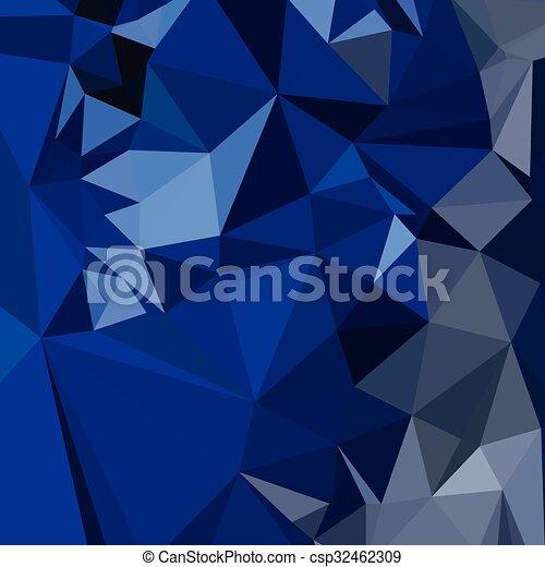 blauwe , catalina, veelhoek, abstract, laag, achtergrond - csp32462309