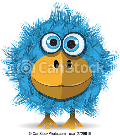 blauwe , gekke , vogel - csp12729918