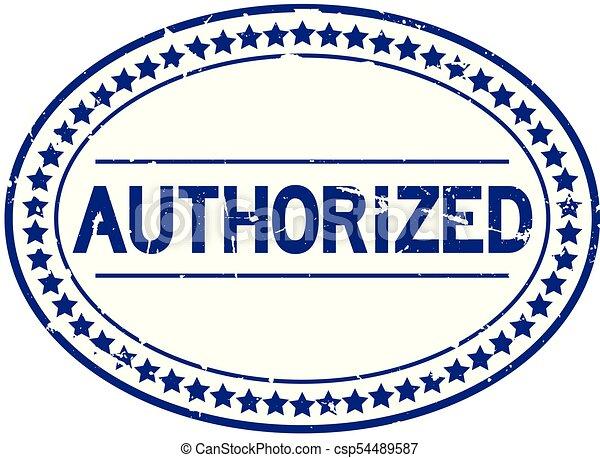 blauwe , grunge, postzegel, rubber, erkend, achtergrond, zeehondje, ovaal, witte  - csp54489587