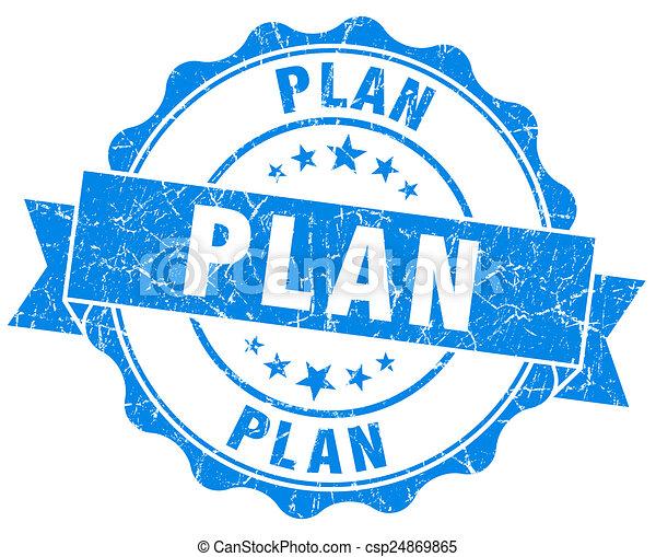 blauwe , grunge, vrijstaand, plan, zeehondje, witte  - csp24869865