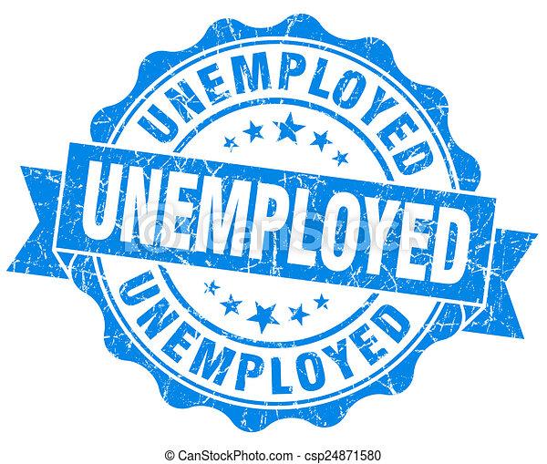 blauwe , grunge, werkloos, vrijstaand, zeehondje, witte  - csp24871580