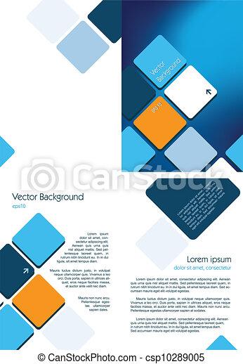 blauwe , informatieboekje  - csp10289005