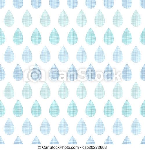 blauwe , model, abstract, strepen, regen, seamless, textiel, achtergrond, druppels - csp20272683