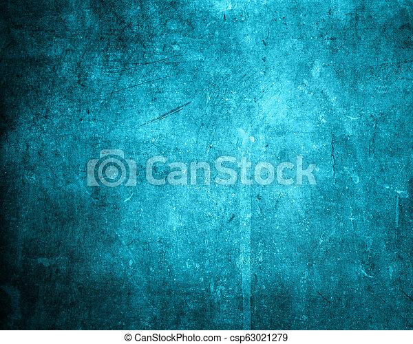 blauwe , schaduwen, stijl, grunge, achtergrond - csp63021279