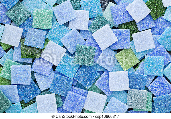 Groene Mozaiek Tegels : Blauwe tegels groene mozaïek. blauwe tegels plein