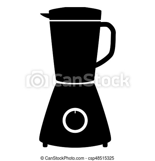 Blender the black color icon . - csp48515325
