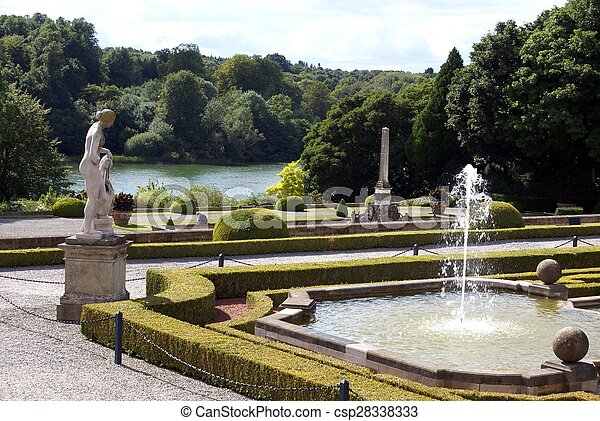 Blenheim Angleterre Jardin Palais Jardin Palais
