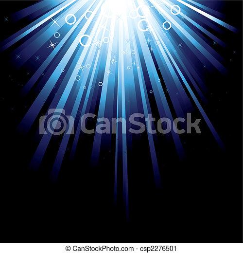 bleu, éclater - csp2276501