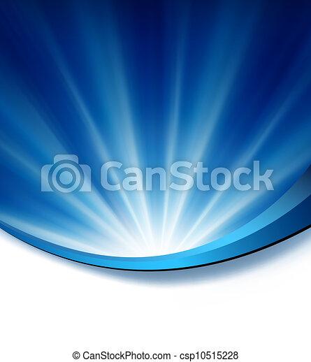 bleu, élégant, fond, résumé - csp10515228