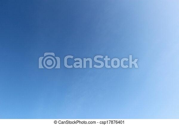 bleu, arrière-plan., ciel - csp17876401