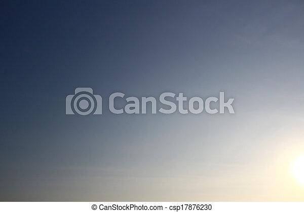 bleu, arrière-plan., ciel - csp17876230