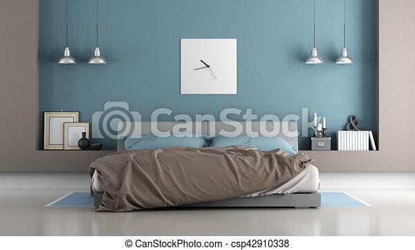 chambre a coucher double dessin design de maison. Black Bedroom Furniture Sets. Home Design Ideas