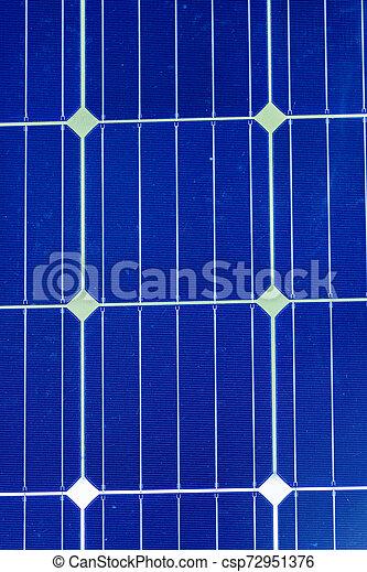 bleu, cellules photovoltaïques, détail, autonomie, solaire, bateaux, flexible, énergie, panneau - csp72951376