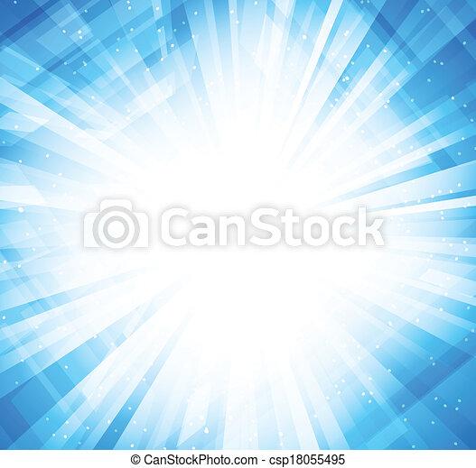 bleu, clair, fond - csp18055495