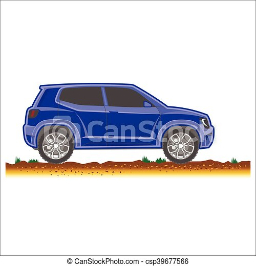 voiture 4x4 route