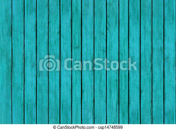 bleu, eau, texture, bois, conception, fond, panneaux - csp14748599