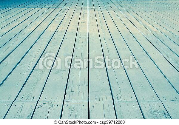 Bleu ext rieur plancher bois v randa perspective ou for Prix plancher bois exterieur