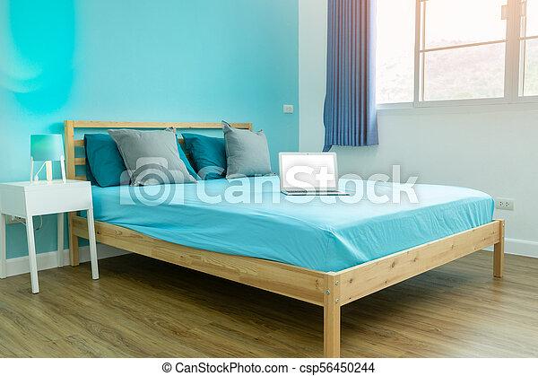 Bleu, Garçon, Salle, Accessoires, Clair, Chambre À Coucher, Blanc