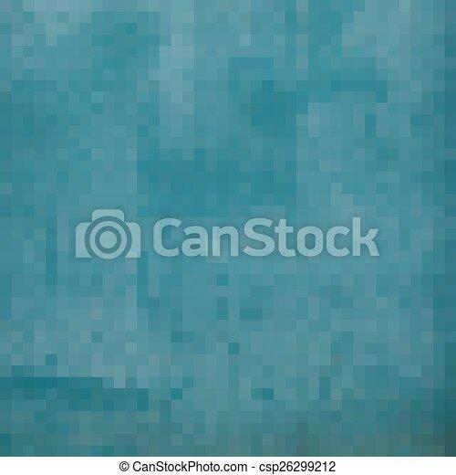 Bleu Gradient Carrée Grunge Pixel