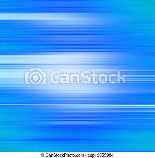bleu, mouvement, résumé, fond, barbouillage - csp13555984