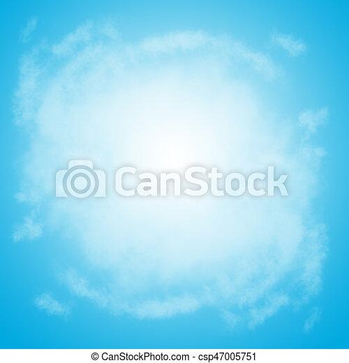Bleu Résumé Ciel Fond Bleu Ciel Bleu Espace Concept Texte