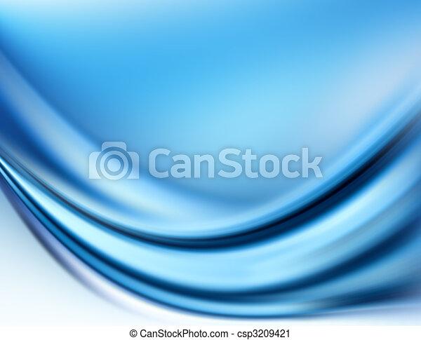 bleu, résumé - csp3209421