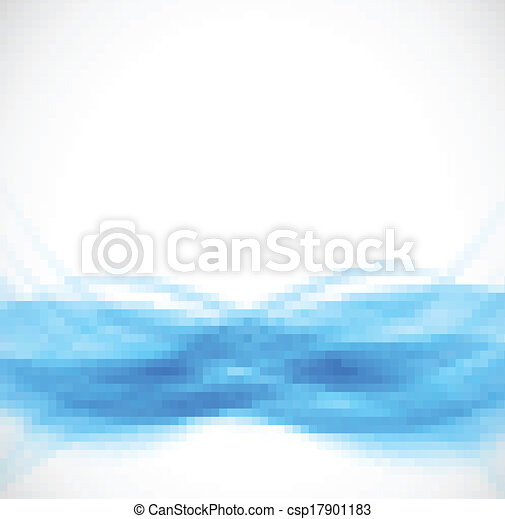 bleu, résumé, fond - csp17901183